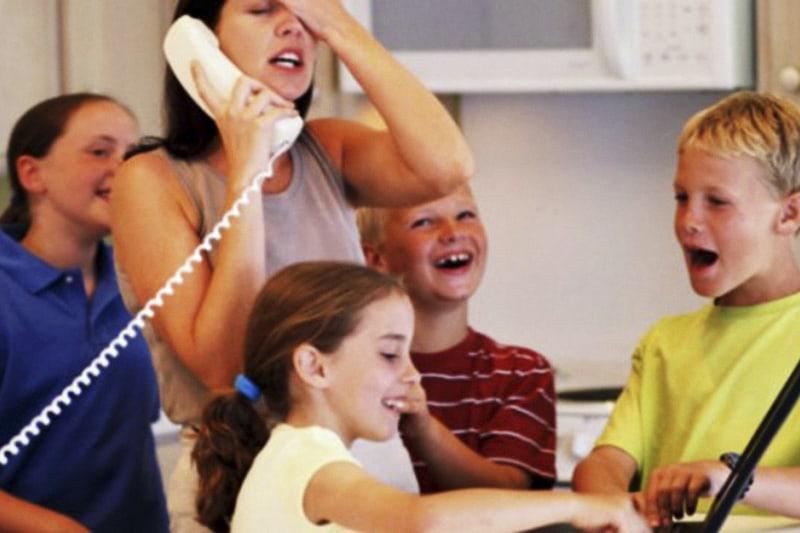 Genitori stressati