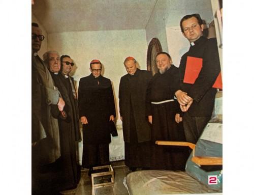 """Card. Wojtyla, pellegrino da Padre Pio: """"Io vedo che questa verità 'La gloria di Dio è l'uomo vivente' si è incarnata in uomo, Padre Pio"""""""