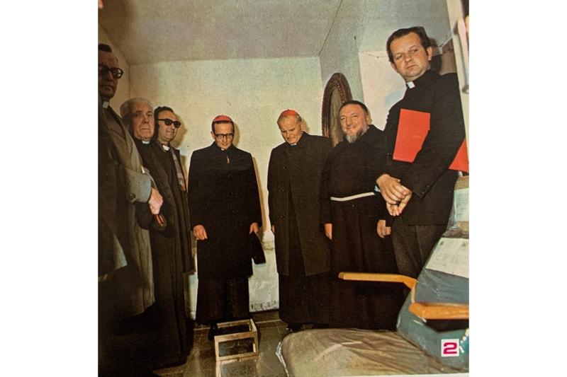 Karol Wojtyla pellegrino da Padre Pio