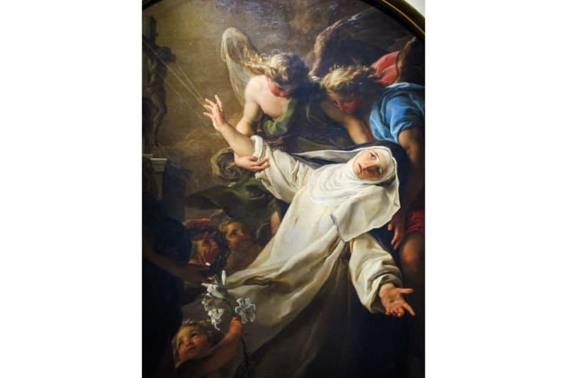 L'estasi di Santa Caterina da Siena - Pompeo Batoni