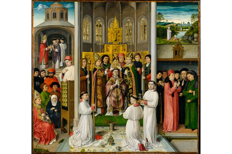 Master of Saint Augustine, Netherlandish. 1490 circa, presso il MET, New York.