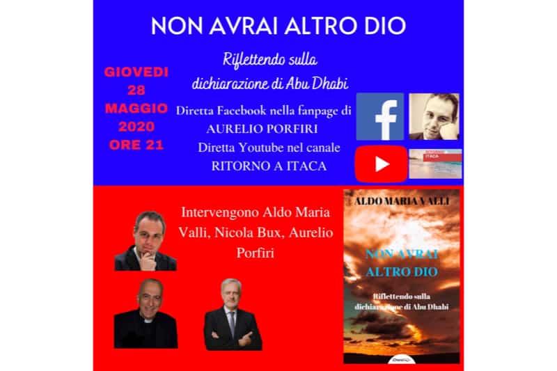 Locandina presentazione libro di Aldo Maria Valli