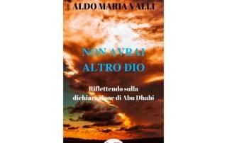 """Libro Aldo Maria Valli """"Non avrai altro dio"""""""