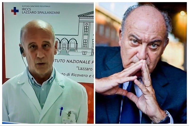 Dott. Vincenzo Puro e il dott. Giuseppe De Rita