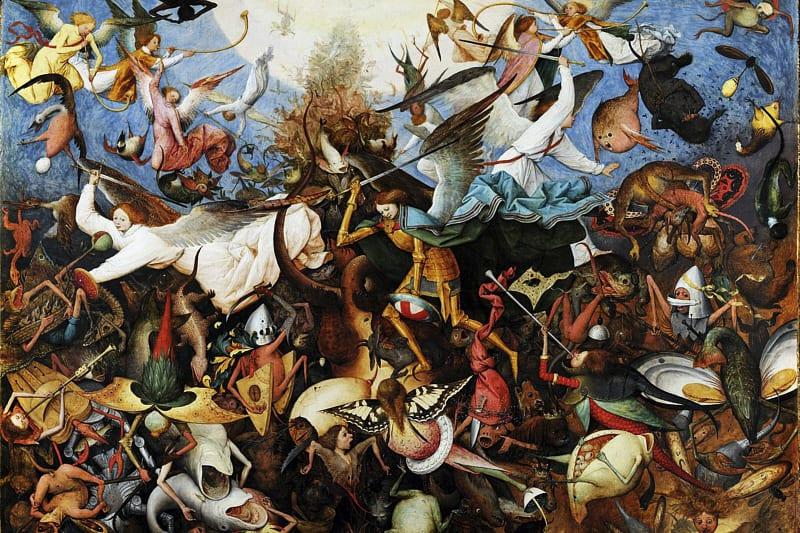 Caduta degli angeli ribelli, Pieter Bruegel il Vecchio