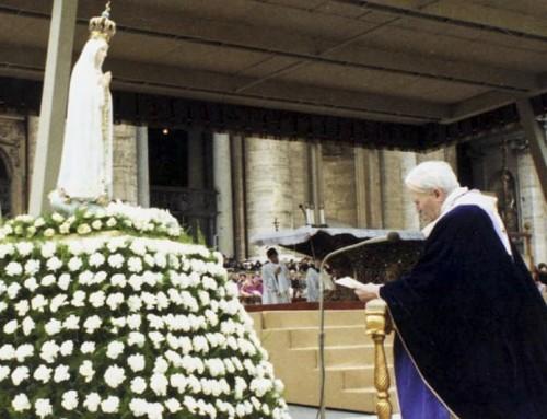 Atto di affidamento e consacrazione del mondo alla Vergine Maria 25 marzo 1984