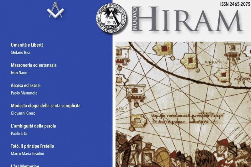 Nuovo Hiram rivista del Grande Oriente d'Italia