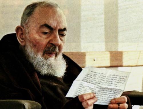 Gli auguri di buon compleanno a San Pio