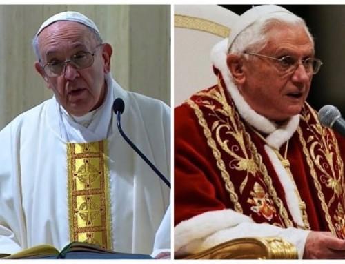 Benedetto ha dato alla Chiesa le condizioni per una maggiore unità, Francesco pone le basi per una possibile divisione