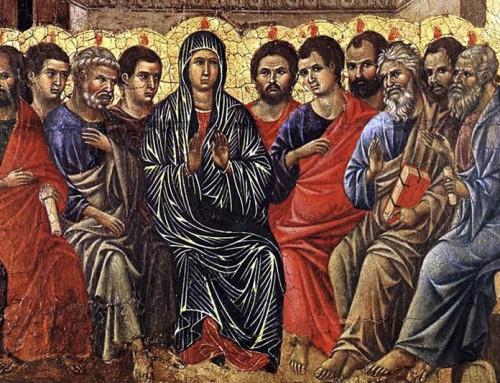 """Benedetto XVI: """"Facciamo nostra l'invocazione della Chiesa:Veni,SancteSpiritus!Un'invocazione tanto semplice e immediata, ma insieme straordinariamente profonda"""""""