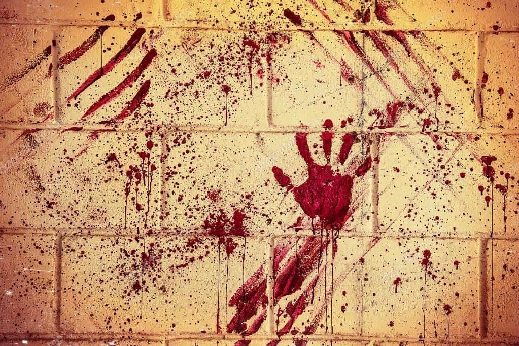 Sangue sul muro