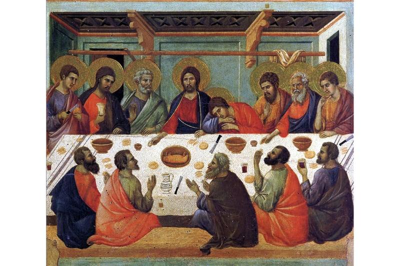 Ultima cena - Duccio di Boninsegna