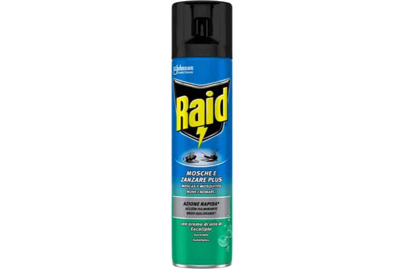 Spray per zanzare e mosche