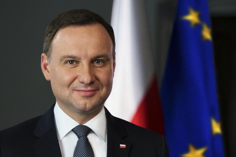 Duda Andrzej, presidente della Polonia