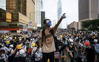 Hong Kong, proteste per la liberttà (Photo by Anthony Kwan/Getty Images)