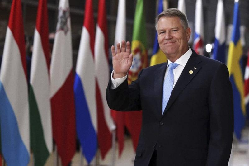 Klaus Iohannis, president of Romania