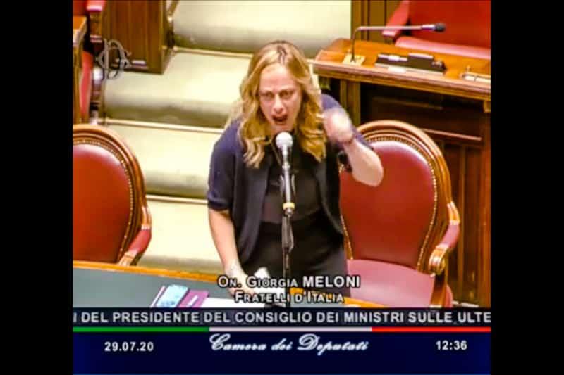 Giulia Meloni 29 luglio 2020