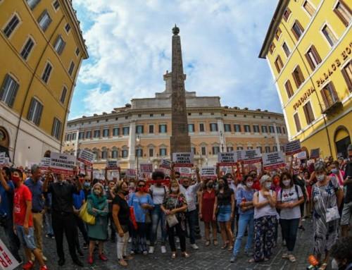 #RESTIAMOLIBERI, Roma 16 luglio 2020: Libertà! Libertà! Libertà!