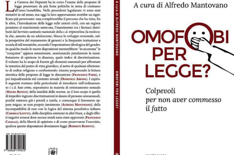 """""""Omofobi per legge"""" Libro"""