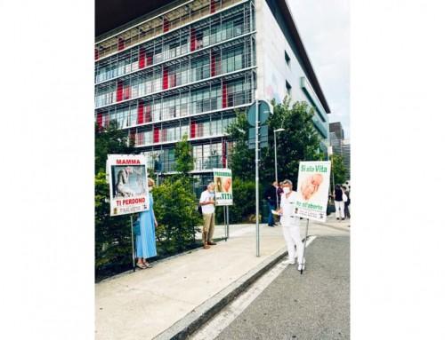 Comunicato contro il boicottaggio delle militanti  femministe ai danni dell'Associazione Ora et Labora in difesa della Vita a Bergamo