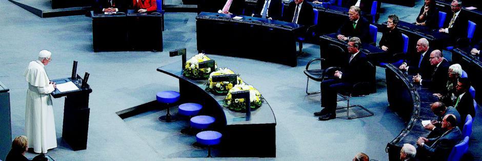 Benedetto XVI al Parlamento federale tedesco (Bundestag)