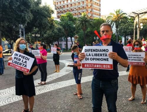 #RESTIAMOLIBERI – No alla legge Zan-Scalfarotto – Taranto è presente