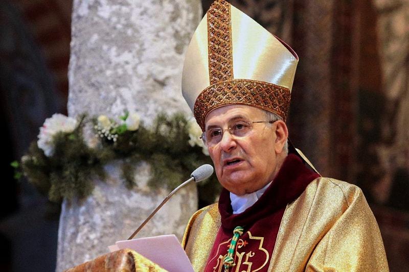 S.E. Mons. Giampaolo Crepaldi, vescovo di Trieste