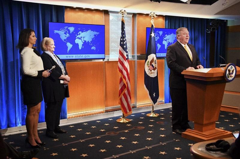 Michael Pompeo, Segretario di Stato USA, Commssione sui Diritti Inalienabili