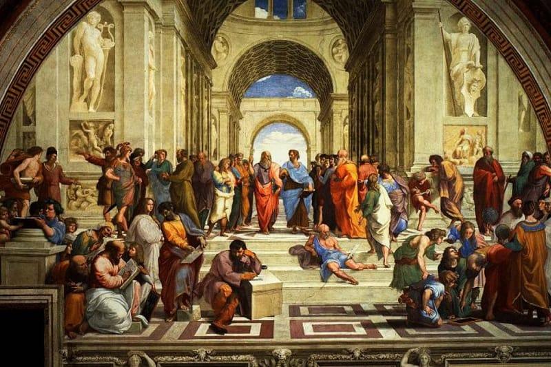 Raffaello Sanzio, La scuola di Atene, Musei vaticani