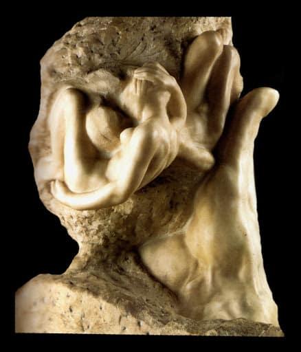 Rodin A., La mano di Dio