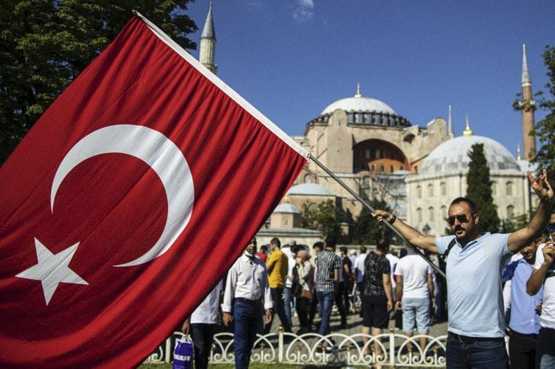 Santa ofia, Istambul, Turchia, 13 luglio 2020 ( EPA/ERDEM SAHIN)