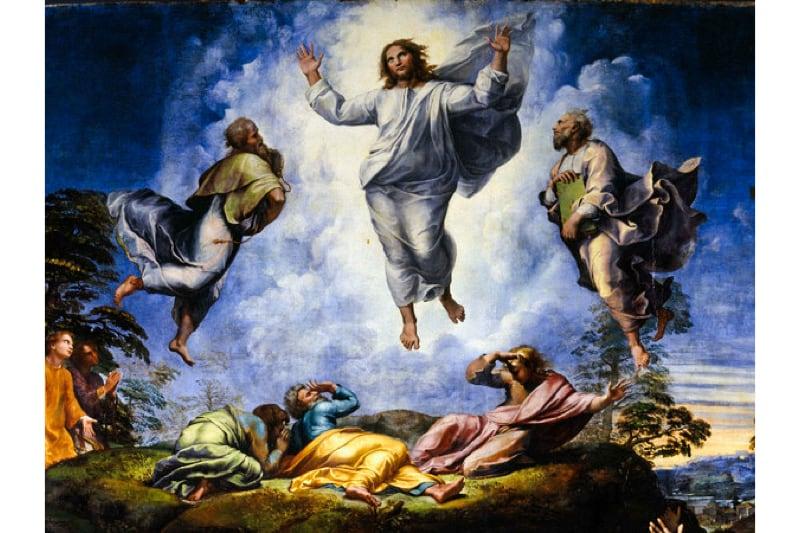 Gesù trasfigurazione