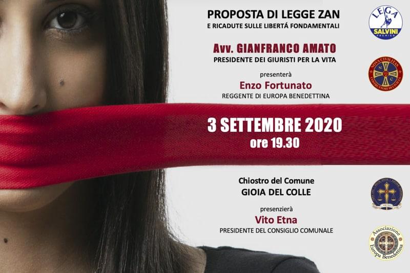 Gianfranco Amato a Gioia del colle settembre 2020