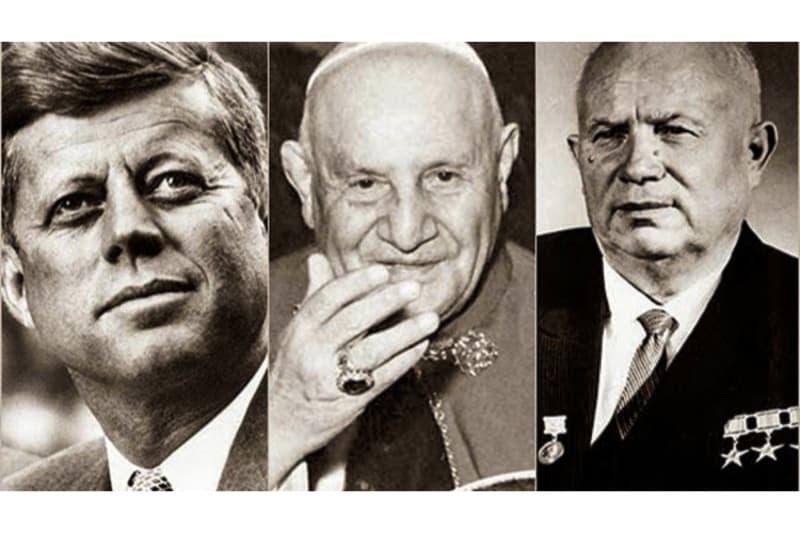 Kennedy, Krusciov e Giovanni XXIII