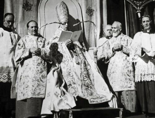 70 anni dalla proclamazione del dogma dell'Assunzione. Il video originale.