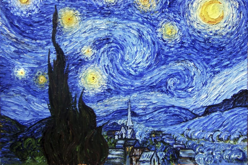Van-Gogh-Cielo-stellato