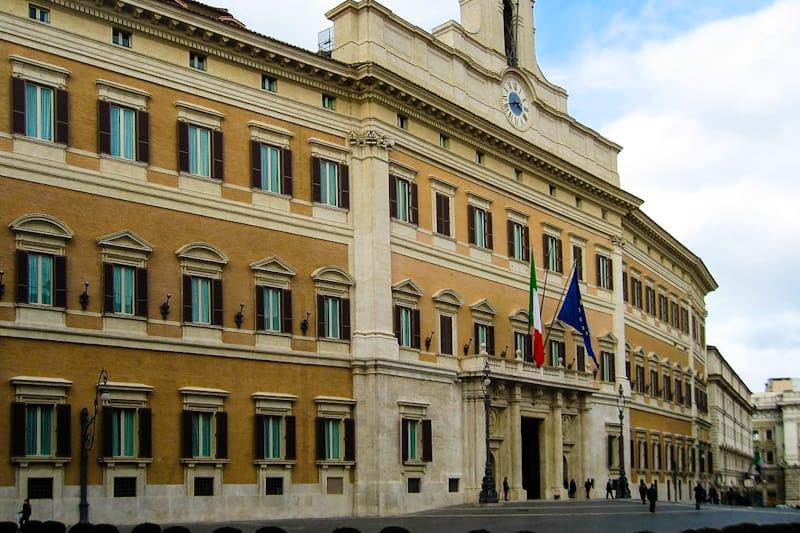 Parlamento, palazzo Montecitorio