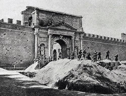 Cosa accomuna l'ultimo libro di Follet al 150mo anniversario di Porta Pia?