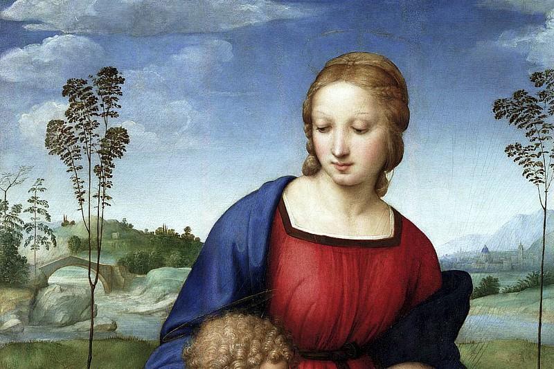 Madonna del cardellino Raffaello