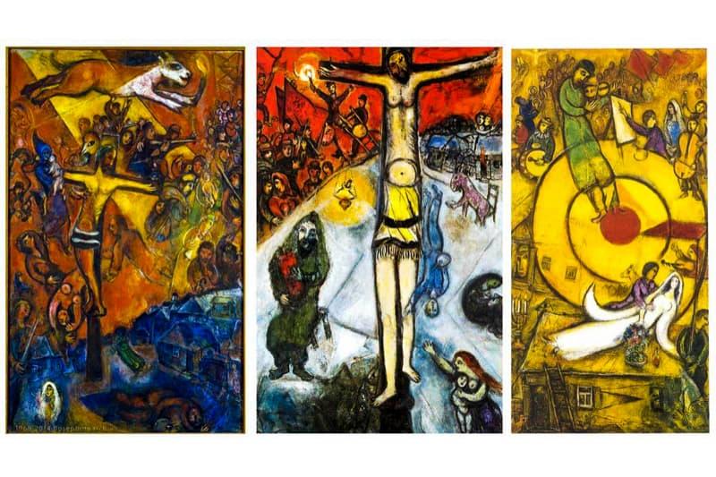 Marc-Chagall-trittico-della-Crocifissione