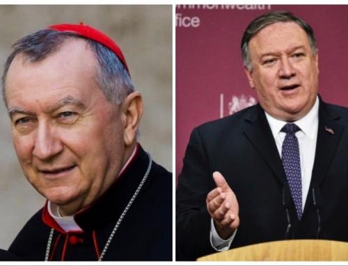 """Il Vaticano ha """"l'autorità morale"""" per parlare della Cina, dice Pompeo alla CNA in un'intervista esclusiva"""
