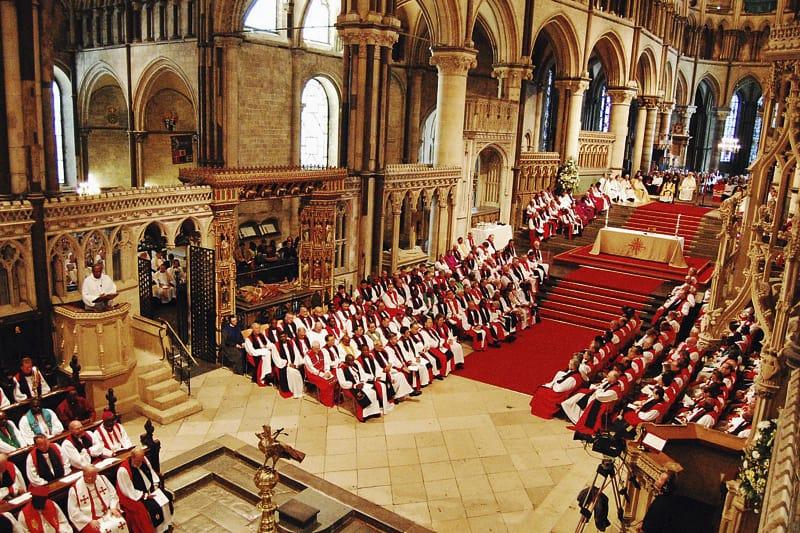 Solenne Celebrazione di Apertura della Conferenza di Lambeth presso la Cattedrale di Canterbury