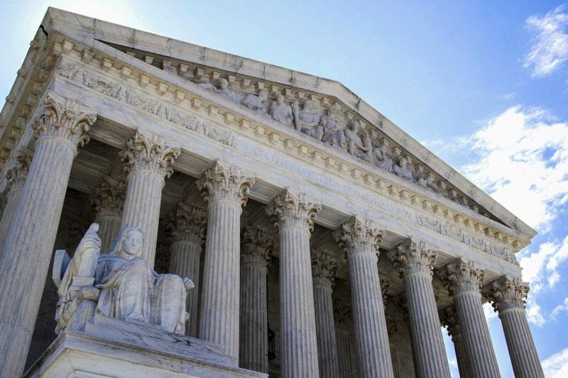 Corte Suprema USA in Washington. (AP Photo/Manuel Balce Ceneta)