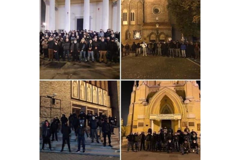 Fedeli-presidiano-le-chiese-contro-gli-atti-di-vandalismo-degli-abortisti