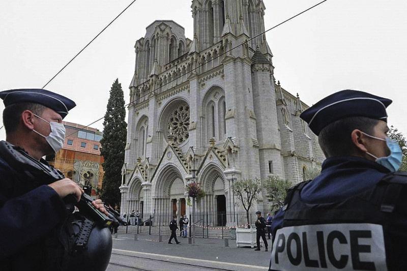 Nizza, attentato a Notre Dame