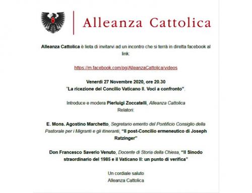 La ricezione del Concilio Vaticano II. Voci a confronto.