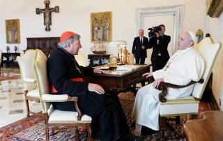 Card. George Pell e Papa Francesco