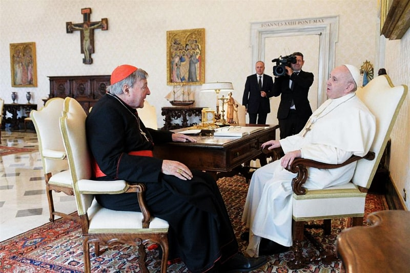 Card. George Pell e Papa Francesco