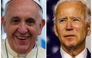 Papa Francesco e Joe Biden