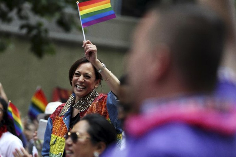 Kamala Harris getty gay pride